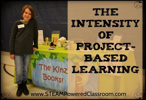 The Intensity of Project-Based Learning – STEAM-Powered Classroom | Science at the Webb | Scoop.it