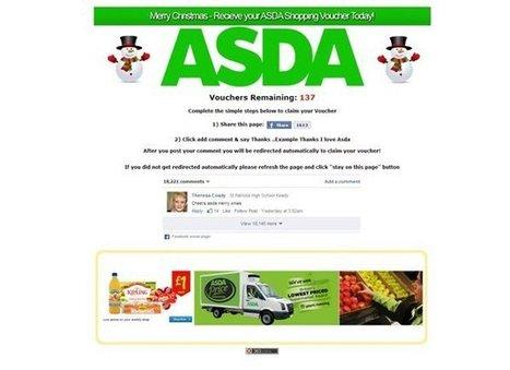 Watch out for the ASDA Facebook voucher scam   e-Development   Scoop.it