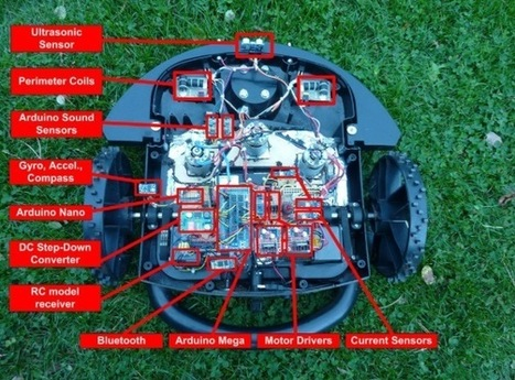 Designing an ArduMower with Atmel and Arduino | Cultura Libre | Scoop.it