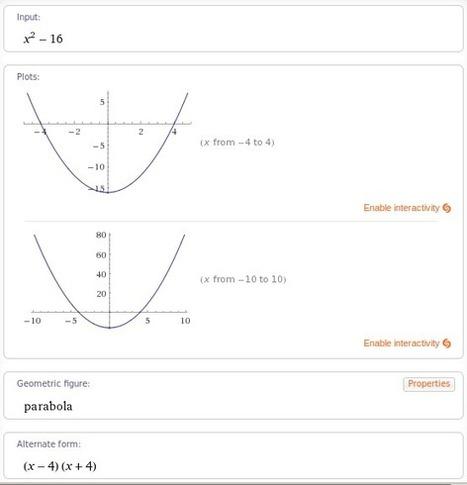 Calcul formel sans clavier sur tablettes tactiles | Mathématiques - Collège Lycée - | Scoop.it