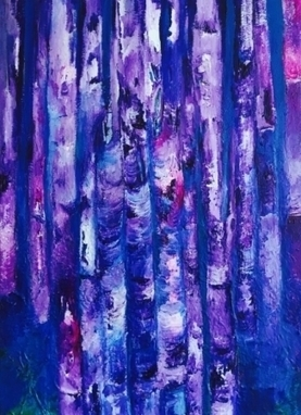 Artwork: Purple Dream - Open House Art | Art - Crafts - Design | Scoop.it
