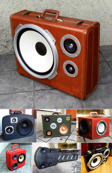 The BoomCase: Salvation-Army-style boomboxes | Art, Design & Technology | Scoop.it