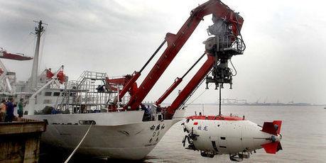 La Chine nourrit des ambitions dans l'exploration des profondeurs marines | Les Amis de la Terre | Scoop.it