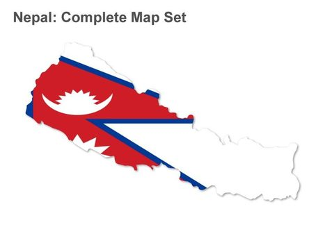 Nepal Map - Apple Keynote Slides | World Challenge 2014 | Scoop.it
