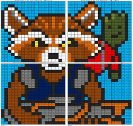 Guardians of the Galaxy- Division Mural | Coloring Squared | Scoop.it