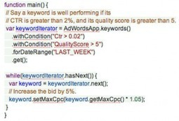 Four Ways You Can Benefit By Using AdWords Scripts | Selected Social Media News | Scoop.it