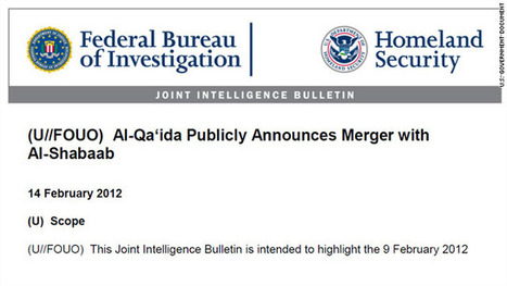 FIRST ON CNN: U.S. law enforcement bulletin on al Qaeda-al Shabaab merger – CNN Security Clearance - CNN.com Blogs | Criminal Justice in America | Scoop.it