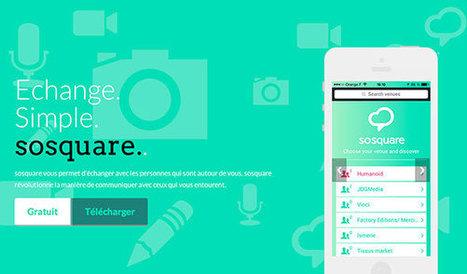 SoSquare : une application pour communiquer facilement avec les gens qui nous entourent | Coaching digital | Scoop.it