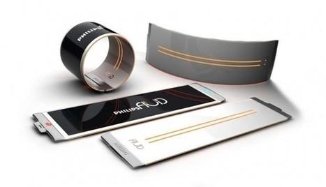 Philips Fluid Flexible Concept Smartphone | Philips Fluid OLED screen | NewHiTechGadgets | Scoop.it