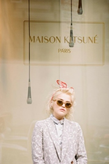 Maison Kitsuné Unveils Spring/Summer 2014 Collection Featuring Sky Ferreira - The LA Fashion magazine | Best of the Los Angeles Fashion | Scoop.it