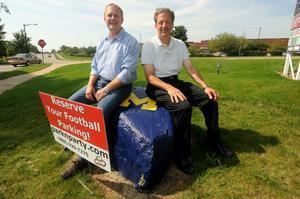 Startup site's mission: Connect tailgaters to available U-M football parking - AnnArbor.com | Small Business Start & Development | Scoop.it