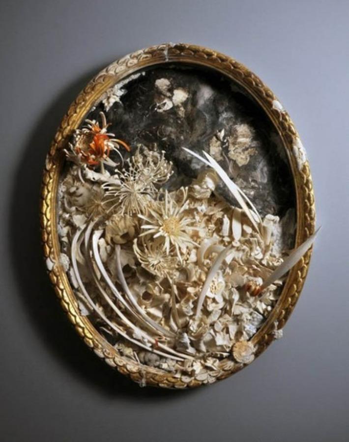 Artist Sculpts Animal Bones into Delicate Works of Art | For Art's Sake-1 | Scoop.it
