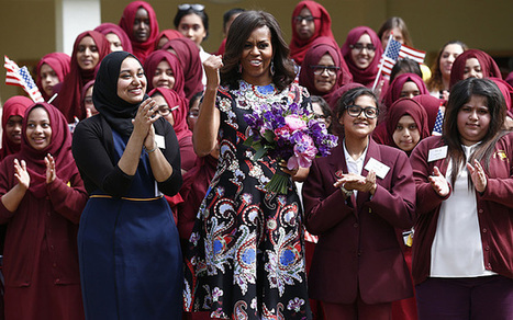 Mrs Obama's girl power - education | Education Zone | Scoop.it
