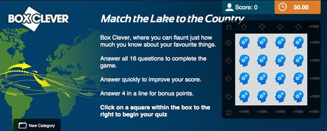 Lakes Quiz | Geography Education | Scoop.it