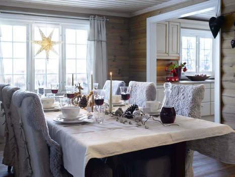 Vianoce na chalupe: Pozrite sa ako si ju krásne vyzdobila nórska rodinka | domov.kormidlo.sk | Scoop.it