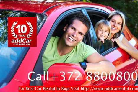 Car Rental Services In Riga Airport With Best Fares | Shanu | Scoop.it