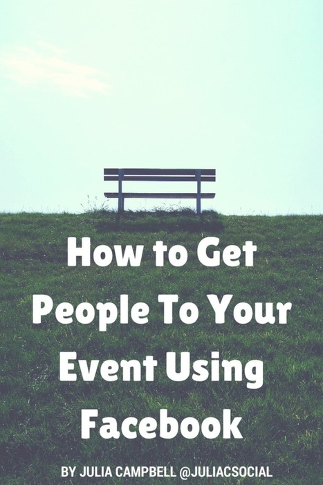 How to Get More People At Your Nonprofit Event Using Facebook | Nonprofits & Social Media | Scoop.it
