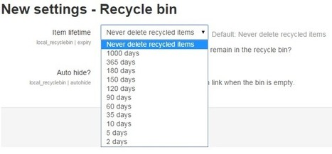 Moodlewish come true: The Recycle Bin for Moodle | elearning stuff | Scoop.it