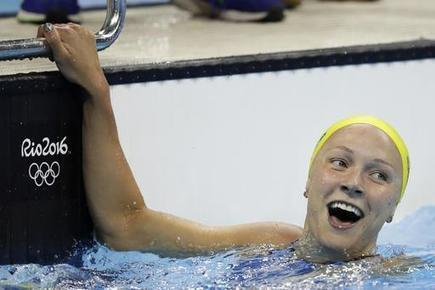 Sjostrom Sets World Record in 100M Butterfly | Competitive swimming | Scoop.it