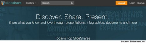 SlideShare PRO Features Unlocked. Here's How to Use Them   Content Marketing Forum   Web design com jeitinho brasileiro   Scoop.it