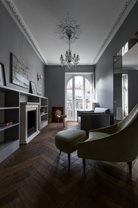 The Cool Hunter - Strauss Apartment - Strasbourg, France. | Interior Design - Interiorisme | Scoop.it