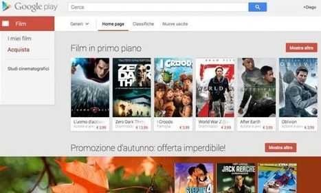 Android: film a noleggio e in vendita su Google Play | Spazio mobile | Scoop.it