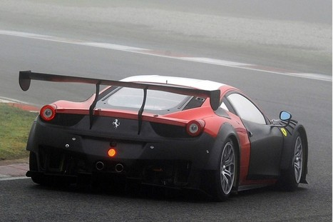 Ferrari 458 GT3 | Spy shots | Auto Blog plus Car Blog | Super cars | Scoop.it