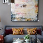 Amazing Interior Design » Oustanding Living Room Designs with Large Size Artwork Pieces   Design   Scoop.it