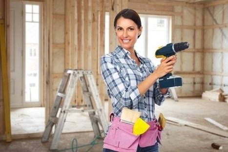 Le bricolage, aussi une affaire de femmes : 5 cours qui ont la cote | Habitat intérieur | Scoop.it
