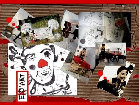 Meubles et objets de décoration en matériaux recyclés | Eko'Art | meubles et objets en carton | Scoop.it