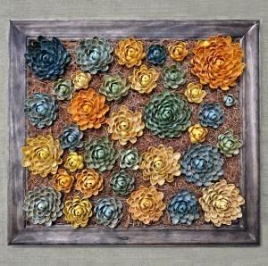 "DIY: Hanging ""Succulent Garden"" Made With Pistachio Shells | a | Scoop.it"