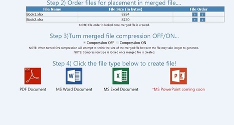 Merge Files of Different Formats Into One File Online With MergeFil.es | Time to Learn | Scoop.it