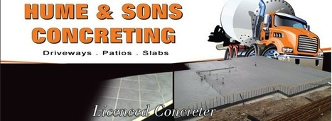 Hume & Sons Concreting: Enhance the Beauty of Your Home with Concrete Shed Slabs | Humeconcreting | Scoop.it