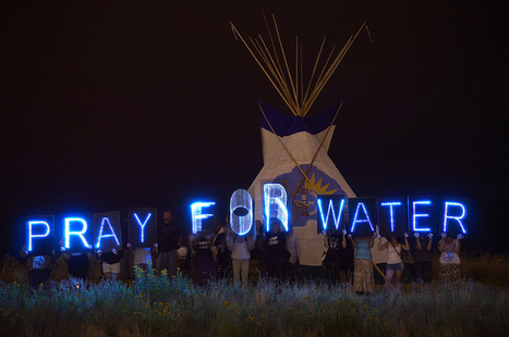 #LightBrigade Lights up Lakefront Before Indian Summer Festival Fireworks | #IdleNoMore #NoPenokeeMine | IDLE NO MORE WISCONSIN | Scoop.it