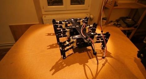 Arduino Blog » Blog Archive » Bleuette, the hexapod robot | Heron | Scoop.it