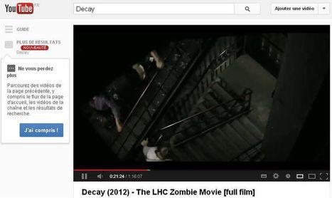 Des étudiants tournent en cachette un film d'horreur au Cern - insolite - Directmatin.fr | Sciences et radio | Scoop.it