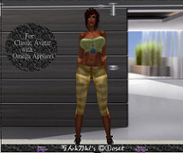 Shanais Closet Blue Skies With Omega Appliers | 亗 Second Life Freebies Addiction & More 亗 | Scoop.it
