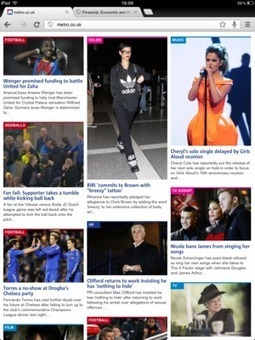 Metro becomes latest newspaper to use responsive design   Digital design and build   Scoop.it