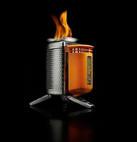 BioLite CampStove and USB Charger | designdrool | Scoop.it