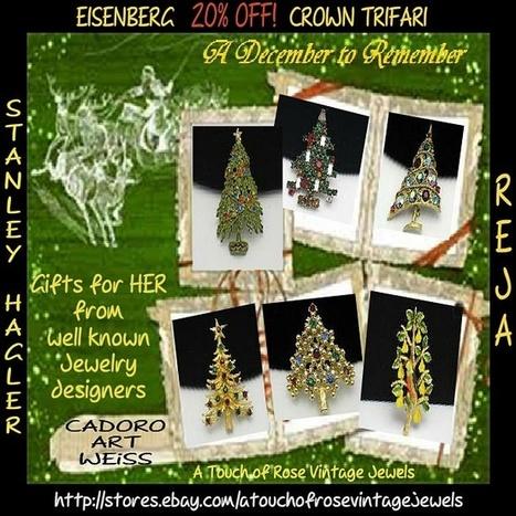 Christmas Brooch Sale | Vintage Designer Jewels | Scoop.it