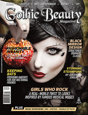Blog Archive » Issue 41 of GOTHIC BEAUTY MAGAZINE | Gothique | Scoop.it