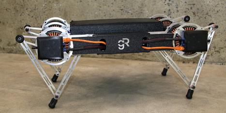 (Vidéo) Ghost Minitaur™ : un acrobate parmi les robots quadrupèdes | Vous avez dit Innovation ? | Scoop.it