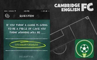 Cambridge English FC: un nuevo juego educativo online para preparar los exámenes Cambridge English: First y Advanced   SCIENCE-ENGLISH CLASSROOM   Scoop.it