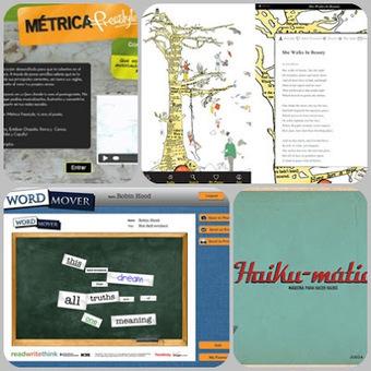 App para escribir poemas | PaLaBraS AzuLeS | Herramientas  y recursos para el aula | Scoop.it