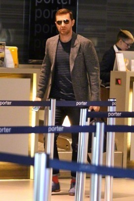 """Richard Armitage catches a departing flight at... - """"LIKE """" some men 