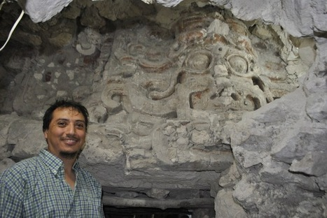 """Un temple maya dédié au """"soleil nocturne"""" découvert au Guatemala   Merveilles - Marvels   Scoop.it"""
