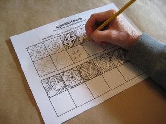 Duplication Exercise   TeachKidsArt   billedkunst   Scoop.it