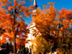 Picturesque Church ~ Autumn Scenery ~ Peak Leaf Colors | by | RedGage | Le super topic & Michel | Scoop.it