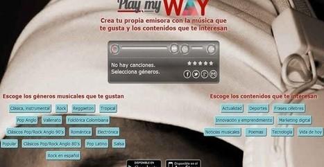 Play My Way, crea tu radio online con música y contenidos de actualidad | Computers in classroom | Scoop.it