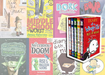 What's Next for Readers Obsessed with Diary of a Wimpy Kid? | Learning in Libraries | Scoop.it